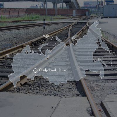 Rail infrastructure design Chelyabinsk Russia