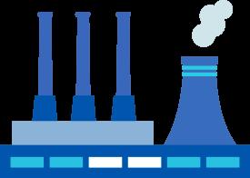Rail track for manufacturing enterprises