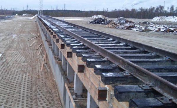 rail infrastructure design by Rospromput in Surgut 2