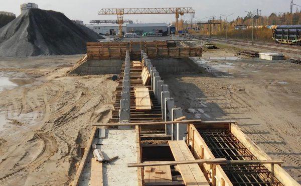 rail infrastructure design by Rospromput in Surgut